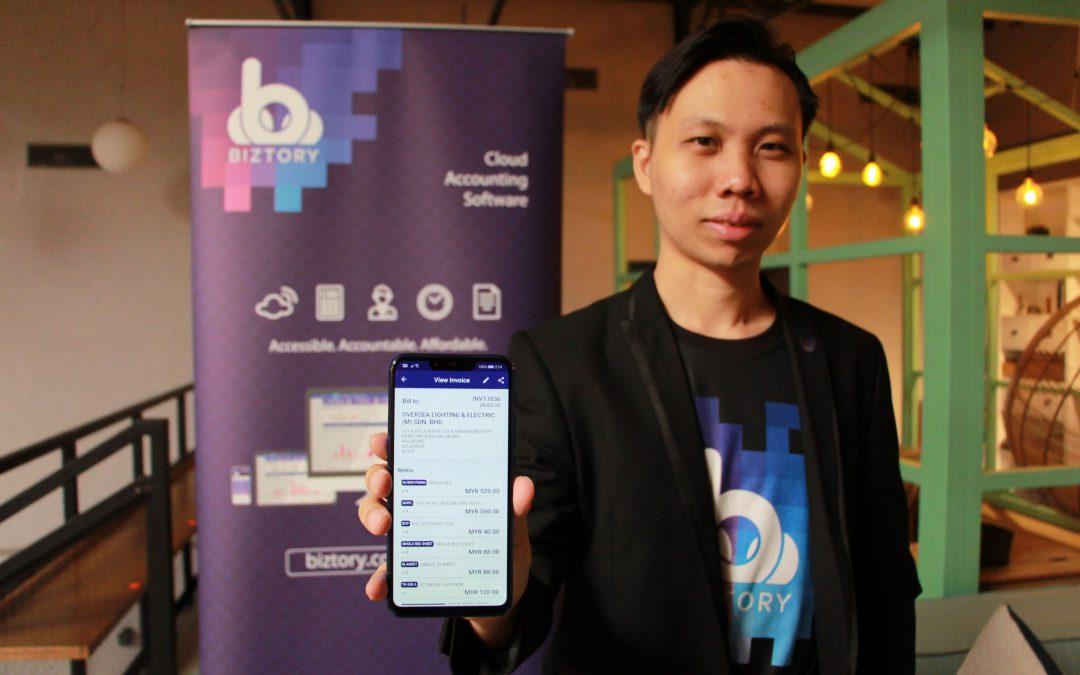 Biztory为中小型企业(SMEs)推出全新会计软件手机应用程序
